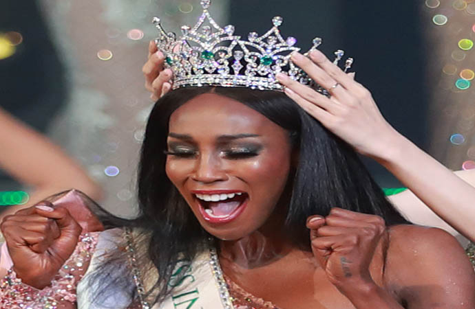 USA's Jazell Barbie Royale was crowned miss international