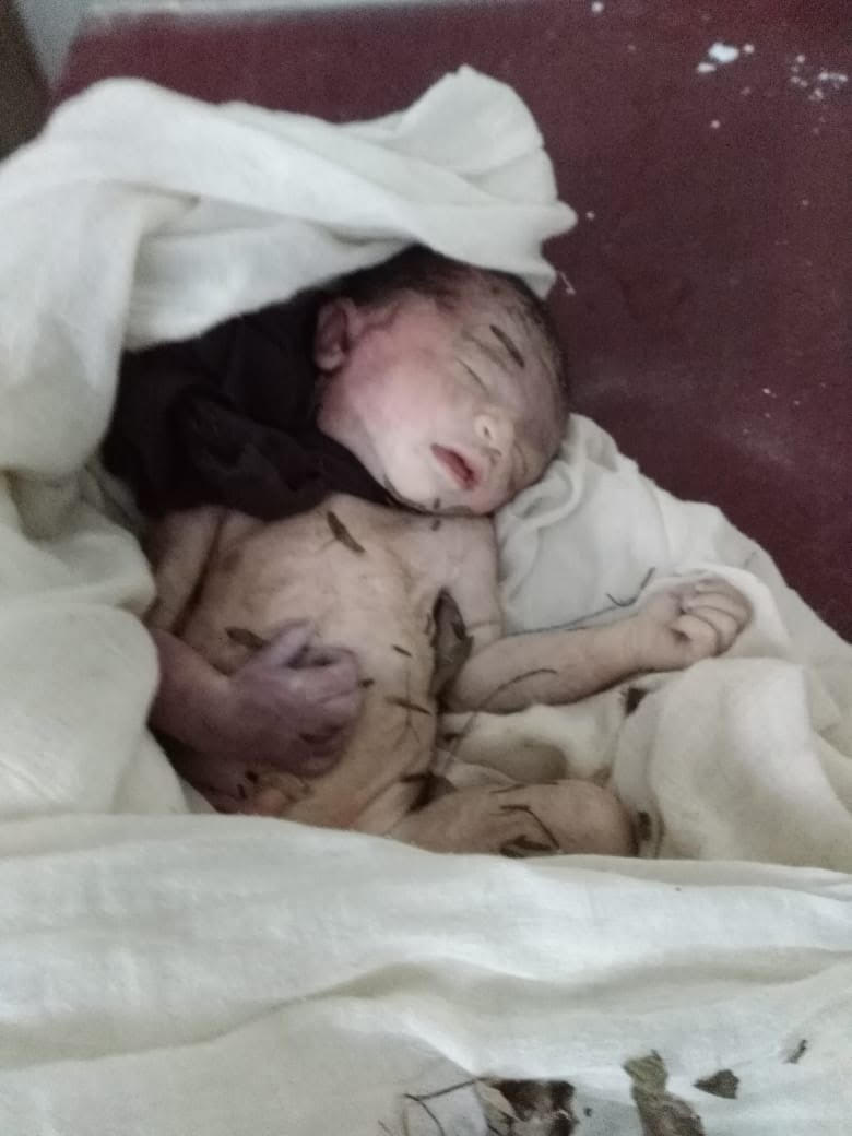 Attock pakistan police have recovered dead body of a new born baby girl from near village nawa and shifted it to hospital for postmortem and other