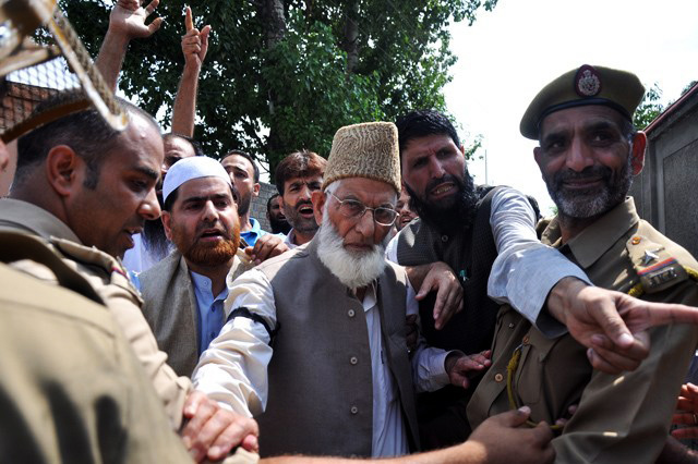 Syed Ali Gilani has been under continued house detention since 2010